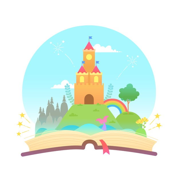 Learn English with story book