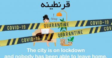 Phrase of Day, Lock down - قرنطینه, Image