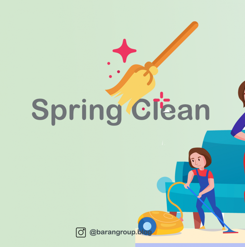 Phrase of Day, Spring Clean, 01